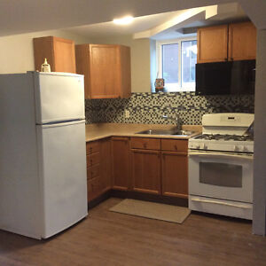 Newly Renovated Two bedroom Lower level of House