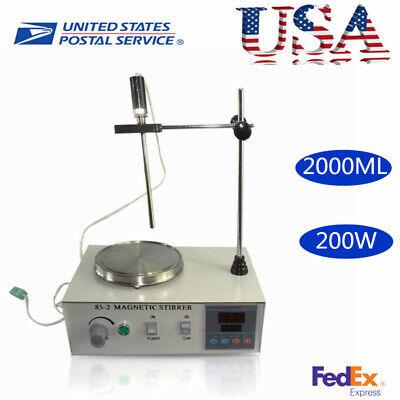 Heating Magnetic Stirrer 85-2 Digital Hot Plate Thermostat 2000ml 200w Stirrer
