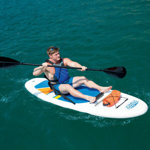 2-in-1 Stand-Up Paddleboard and Kayak