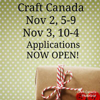 Craft Canada Looking for HandMade Vendors!