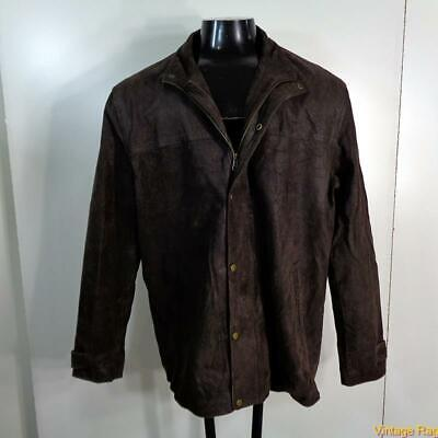 GUIDE GEAR Soft LEATHER JACKET Car Coat Mens Size XL Brown