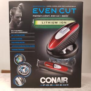 Conair Even Cut Self-Cut Hair Clipper Set - NEW
