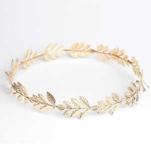 NEW Grecian Goddess Gold Leaf Game of Thrones Tiara Halloween