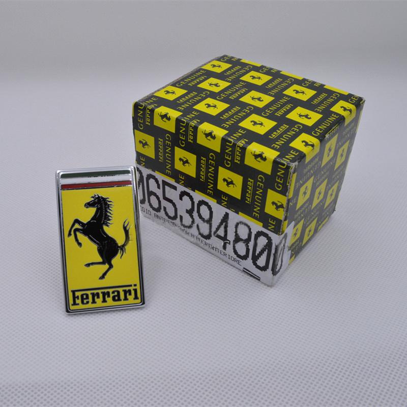 Genuine Ferrari Front Hood Bonnet Badge Emblem 1 Piece 65394800 OEM New