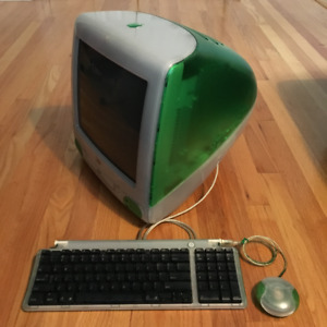 Green Apple iMac G3