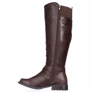 GUESS HALSEY Brown Knee High Boot