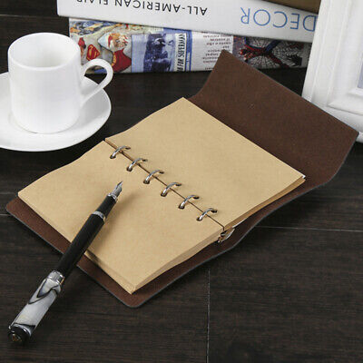 New Filler Paper Refills 6 Holes Lined Paper Loose Leaf Binder A5 A6 Notebook PS - Loose Leaf Notebooks