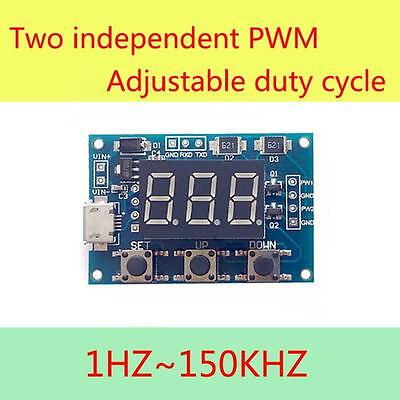 High Accuracy Pwm Generator Adjustable Duty Cycle Pulse Frequency Module Ss Us