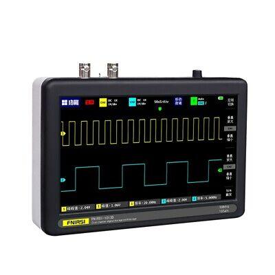 7 Digital Tablet Oscilloscope 2ch 100mhz Bandwidth 1gs Sampling Rate