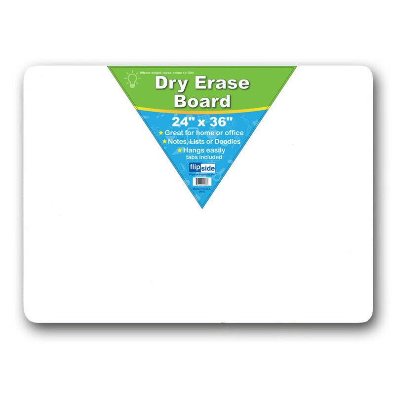 FLIPSIDE DRY ERASE BOARD 24 X 36 10088