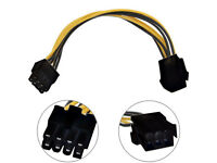 PCI-E 6pin to 8-Pin Adapter Cable for Graphic card Power