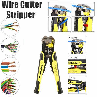 Winholder Self-adjusting Insulation Wire Stripper Cutter Crimper Terminal Pliers