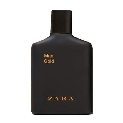 ZARA MAN GOLD Eau de Toilette * 3.3/3.4 oz (100ml) EDT Spray * NEW & UNBOXED