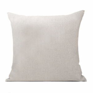 Blank Pillow Covers with Pillow Inserts 18x18 inch