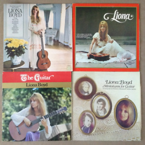 Liona Boyd - Collection of 7 Albums (Vinyl Records)