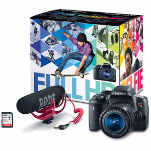 Canon Rebel EOS T6i + RODE bundle