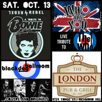 TRIBUTES TO THE WHO, DAVID BOWIE AND BRITISH ROCK
