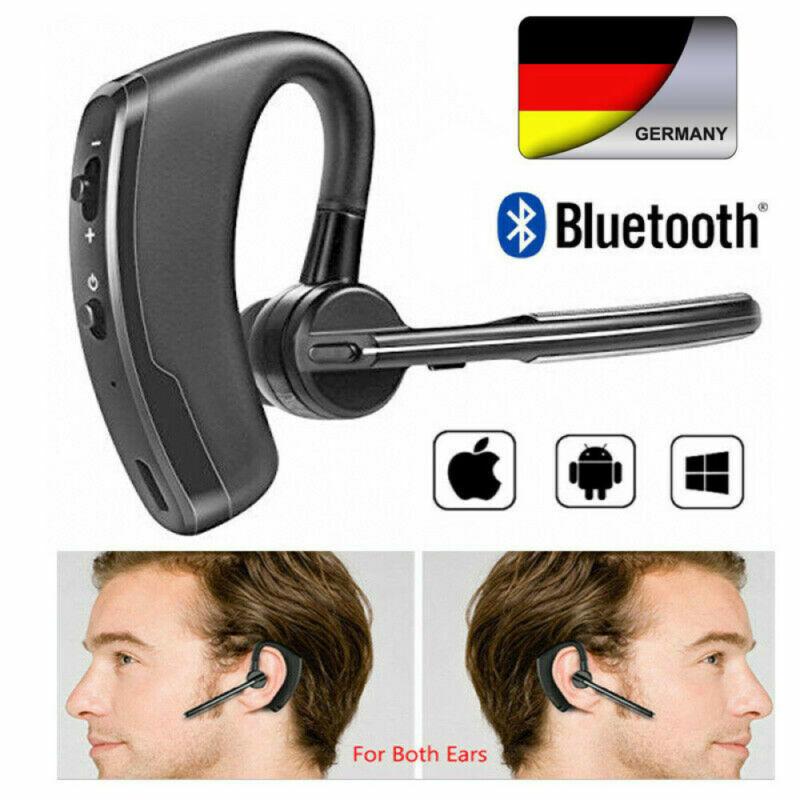 Bluetooth Headset V4.1 EDR Stereo Kopfhörer Kabellos Ohrhörer mit Mic für Handy
