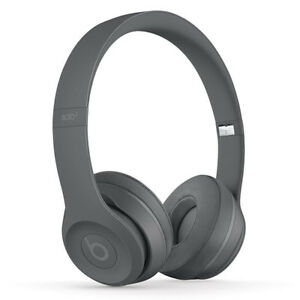 New authentic BEATS SOLO 3 matte grey with receipt