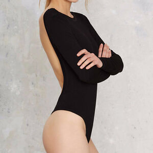 BRAND NEW Backless Long Sleeved Body Suit Kitchener / Waterloo Kitchener Area image 4