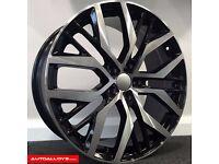 """17"""" 5-100 San Diegos Style Alloy wheels & Tyres Golf MK4, Polo, Audi A1"""
