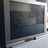 Free 37'' Panasonic flat screen TV