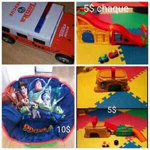 4 jouets garcon