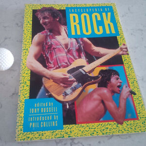 Encyclopedia of Rock, Edited by Tony Russell, 1983 Kitchener / Waterloo Kitchener Area image 1