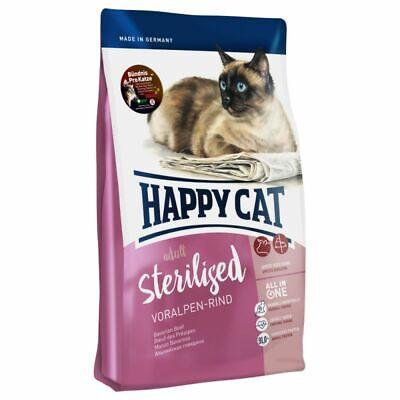 Happy Cat Supreme Sterilised Voralpen Rind 4kg Katzenfutter
