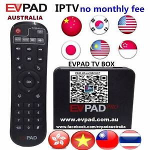 EVPAD 2S IPTV tv box to watch HK TW MY CH JP VIETNAM Live channel Noble Park Greater Dandenong Preview