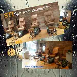 Pedicure Spa PIPELESS with massage chair, Barber chairs Kawartha Lakes Peterborough Area image 4
