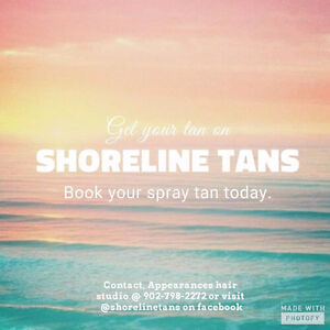 Natural spray tans - gluten free, vegan, cruelty free