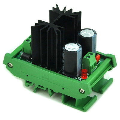 Din Rail Mount Positive 18v Dc Voltage Regulator Module High Quality. X1