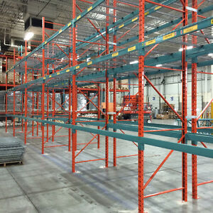 Used Pallet Racking, Shelving, Wire Decking, Security Cages