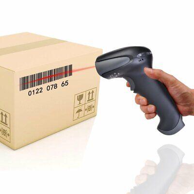 Portable Laser Handheld Barcode Bar Code Scanner Upc Label Reader Removable Usb