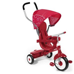 Red Radio Flyer 4 in 1 tricycle - New