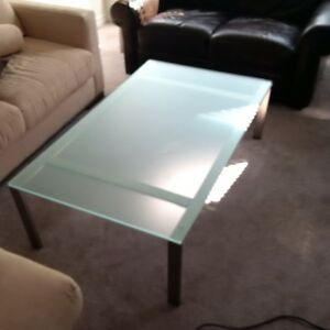 Coffe table & matching side table