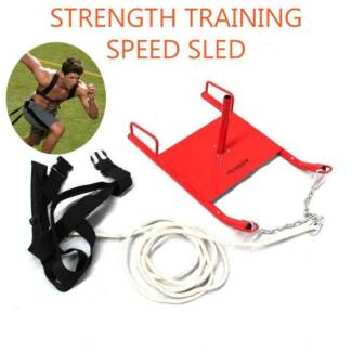 SPEED SLED FITNESS POWER SLED + HARNESS PRO STRENGTH TRAINING Revesby Bankstown Area Preview