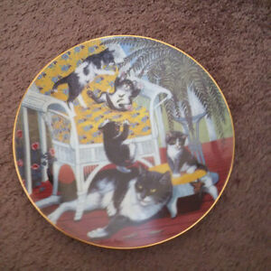 Country Kitties plate collection London Ontario image 7