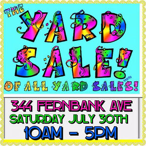 Big clothing and more yard sale