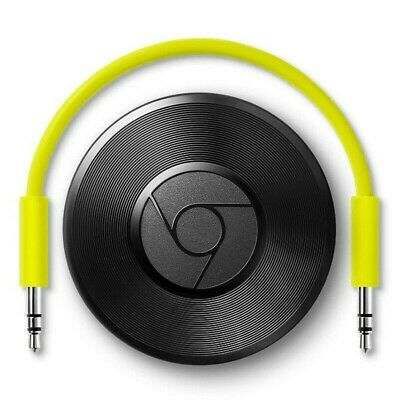 Google Chromecast Audio 2nd Generation Music Media Streamer - Refurbished FFP UK