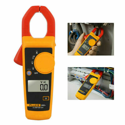 Handheld Fluke 302 Digital Clamp Meter Tester Acdc Volt Amp Multimeter W Case
