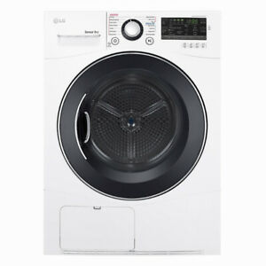 "24"" LG 4.2 cu. ft. Capacity Compact Electric Front Load Dryer"