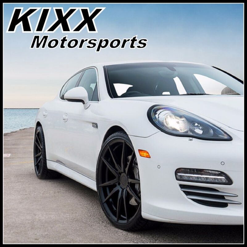 "20"" Rohana Rf2 20x9/11 Forged Black Concave Wheels For Porsche Panamera"