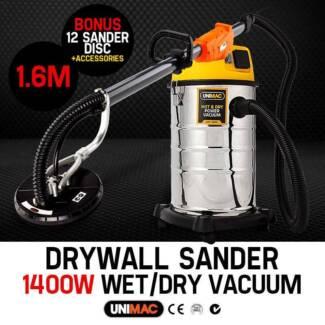 Unimac Drywall Dust Free Plaster Board Gyprock Sander Vacuum Seven Hills Blacktown Area Preview