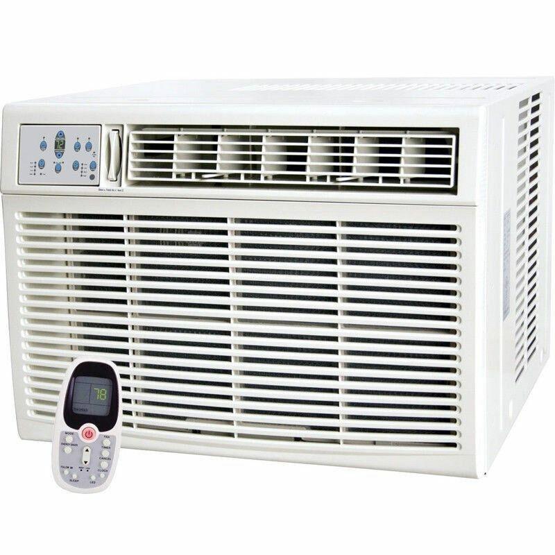 12,000 BTU Window Air Conditioner Room - HEATER, 11000 BTU -