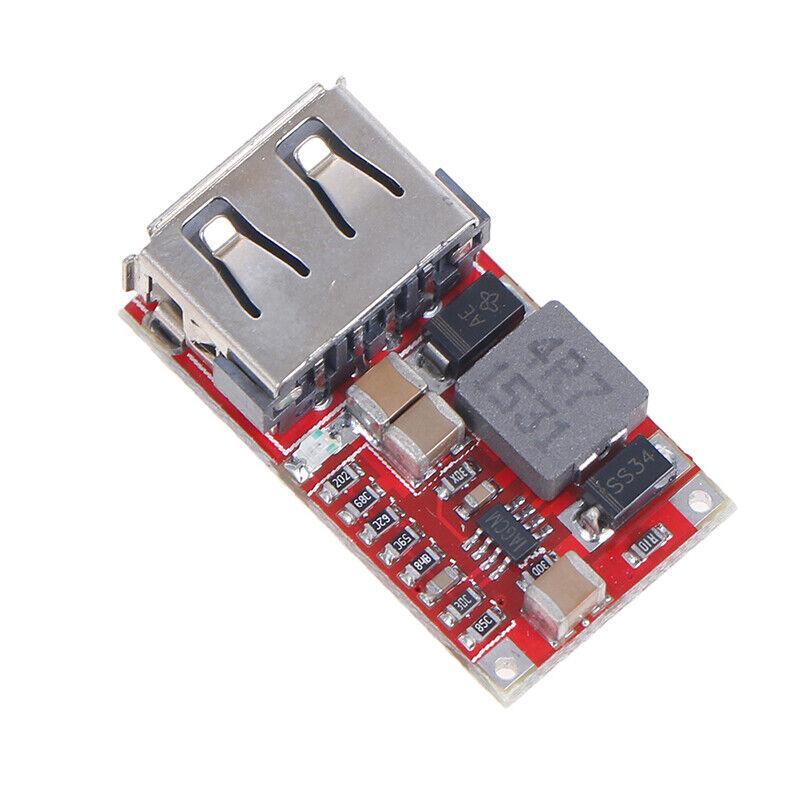 Efficiency 97.5% 6-24V 12V/24V to 5V 3A CAR USB Charger step down Modu_fd