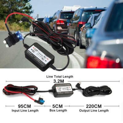 Mini Wire Kit Car Dash Cam Camera 12-30V To 5V Micro USB Cable for Nextbase