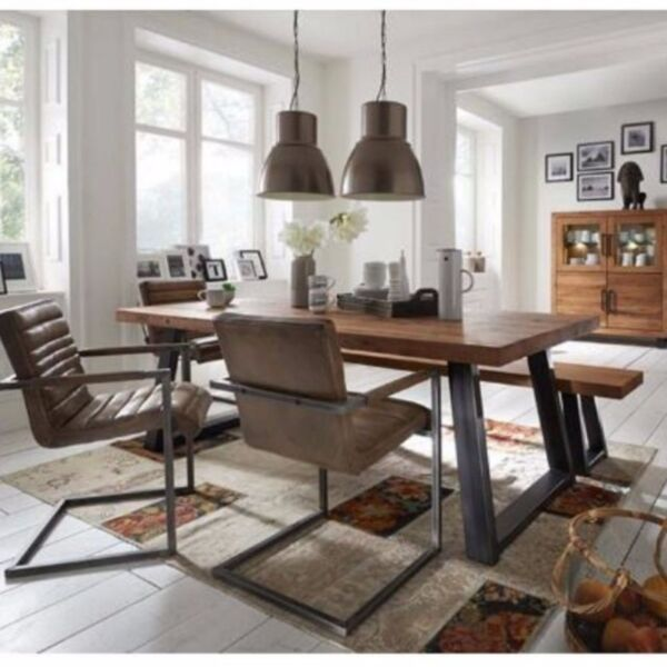 TSDT 00A Solid Wood Dining Table Bench