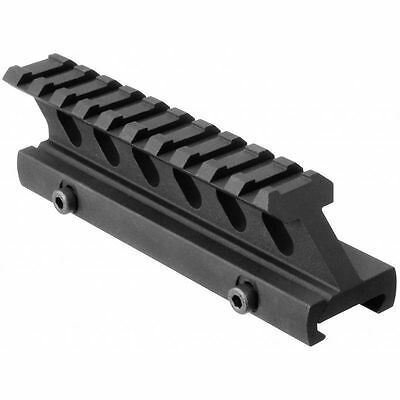 Tactical Tall Height Aluminum Riser Scope Mount Rail For Weaver Picatinny (Tall Rail)